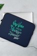 Stronger Than A Thousand Voices Laptop Sleeve - 13 or 15 inch