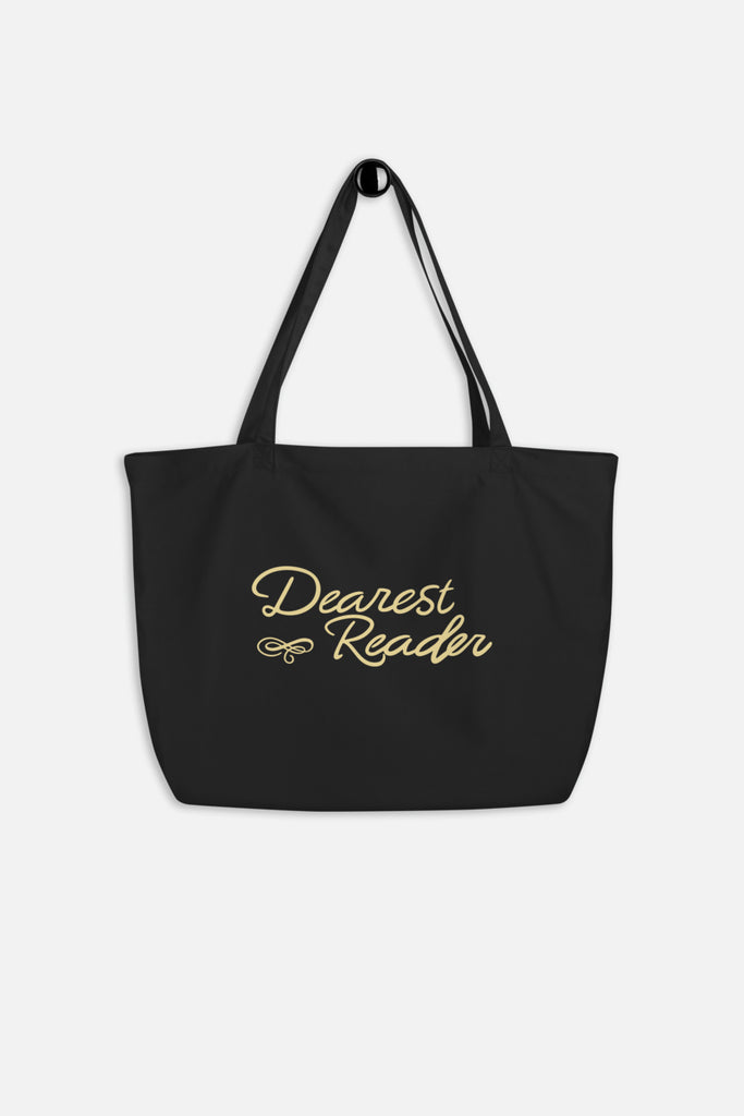 Dearest Reader Large Eco Tote