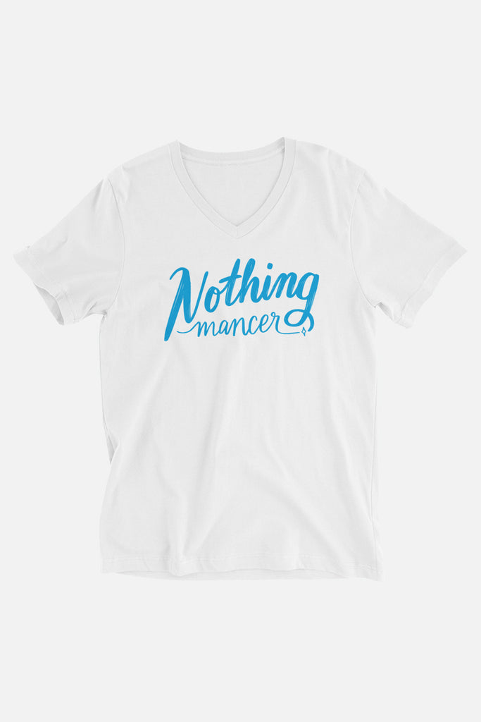 Nothing-mancer Unisex V-Neck T-Shirt