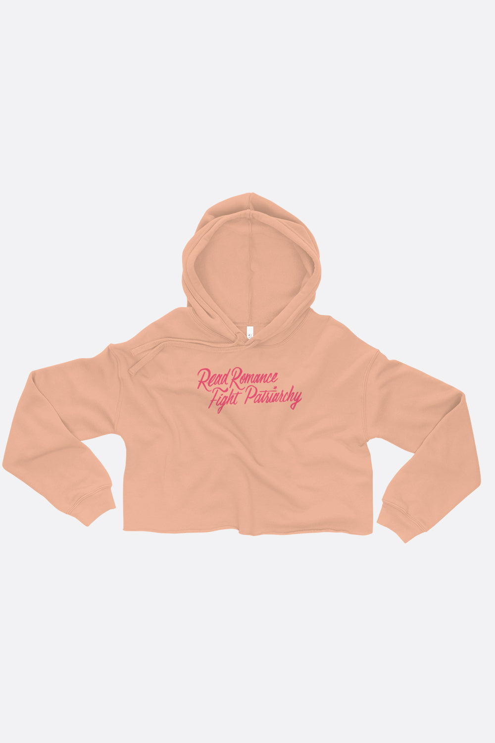 Read Romance, Fight Patriarchy Crop Hoodie | Sarah MacLean