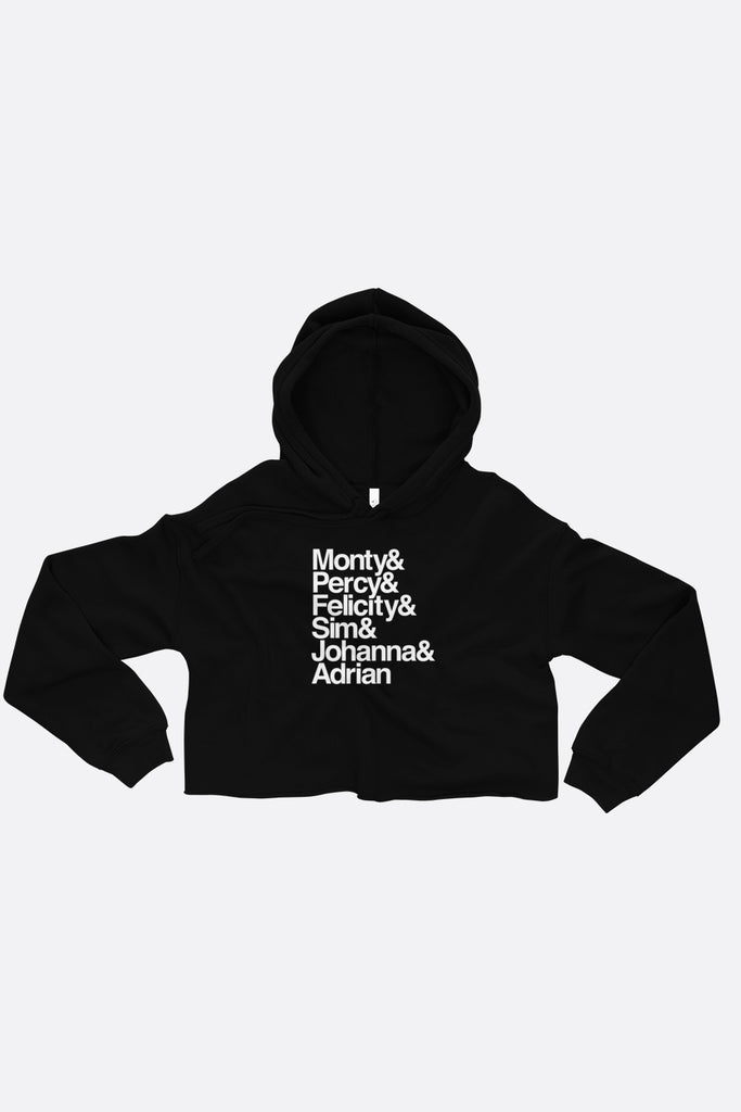 Montague Siblings Ampersand Crop Hoodie | Mackenzi Lee