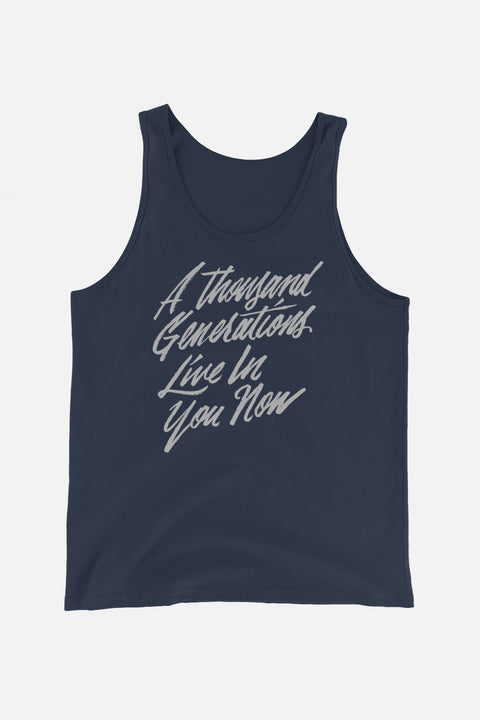 A Thousand Generations Unisex Tank Top