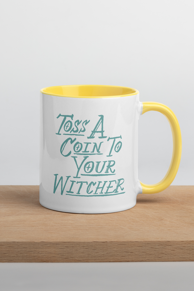 Toss a Coin Colorful Mug
