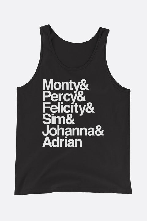 Montague Siblings Ampersand Unisex Tank Top | Mackenzi Lee