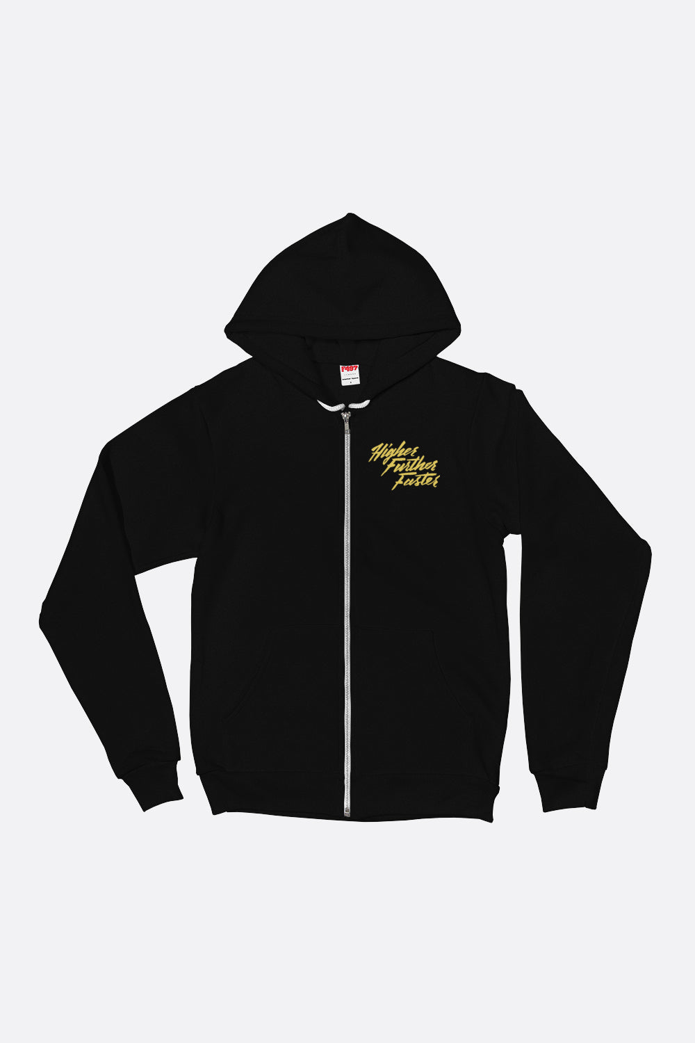Higher Further Faster Zip Up Hoodie
