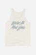 We're All Mad Here Unisex Tank Top | Alice in Wonderland