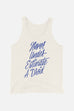 Never Underestimate a Droid Unisex Tank Top
