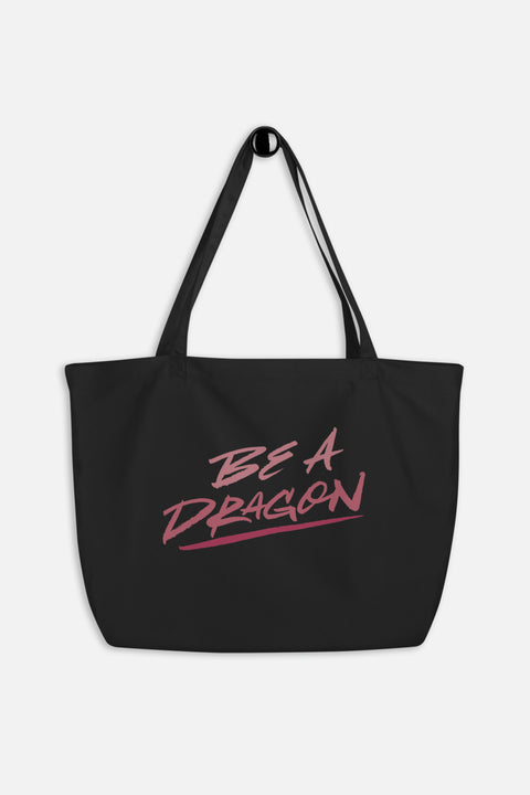 Be a Dragon Large Eco Tote Bag