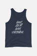 Never Surrender Unisex Tank Top