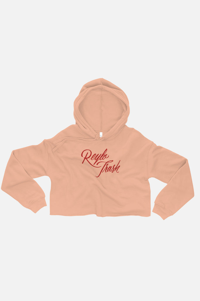 Reylo Trash Fitted Crop Hoodie