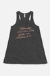 Tomorrow is a New Day Fitted Flowy Racerback Tank | Anne of Green Gables