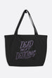 Dead But Delicious Large Eco Tote Bag