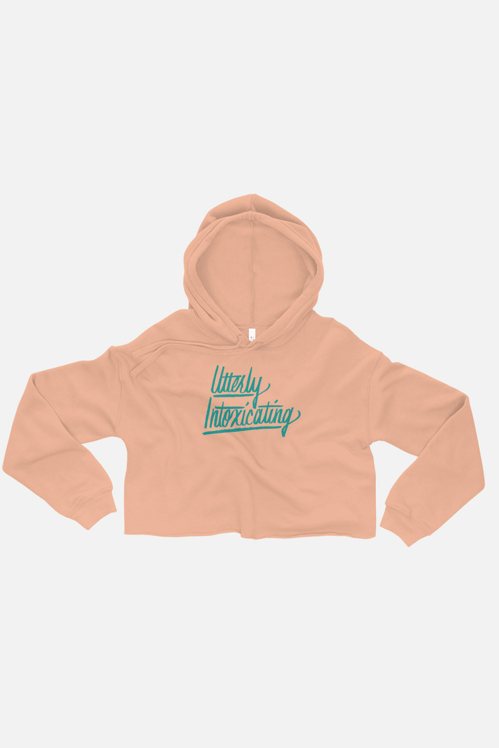Utterly Intoxicating Fitted Crop Hoodie | Sarah MacLean