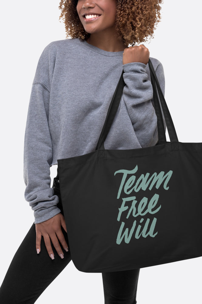 Team Free Will Large Eco Tote Bag