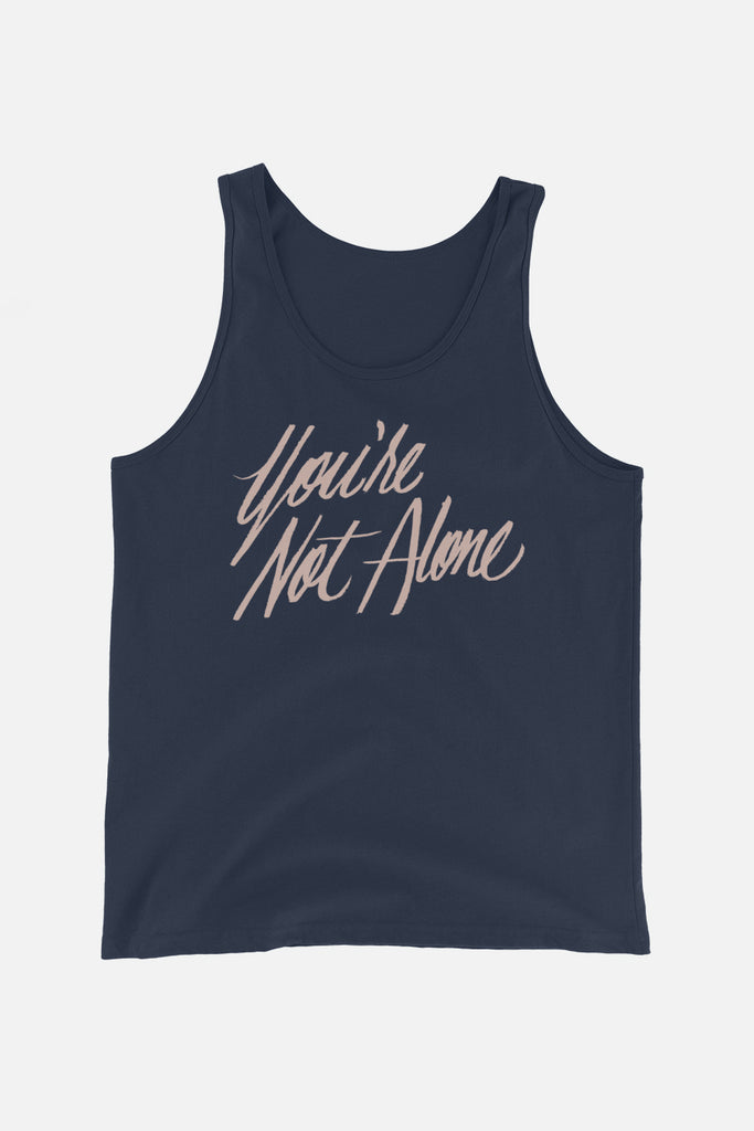 You're Not Alone Unisex Tank Top