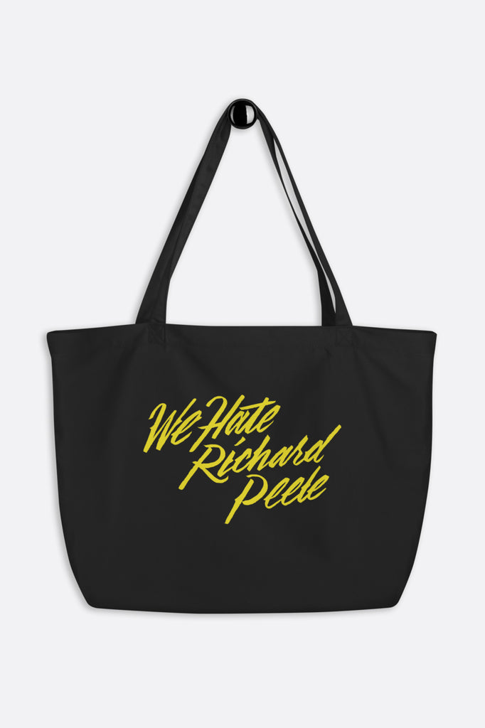 We Hate Richard Peele Large Eco Tote Bag | Mackenzi Lee