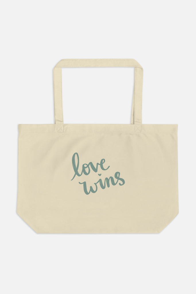 Love Wins Large Eco Tote
