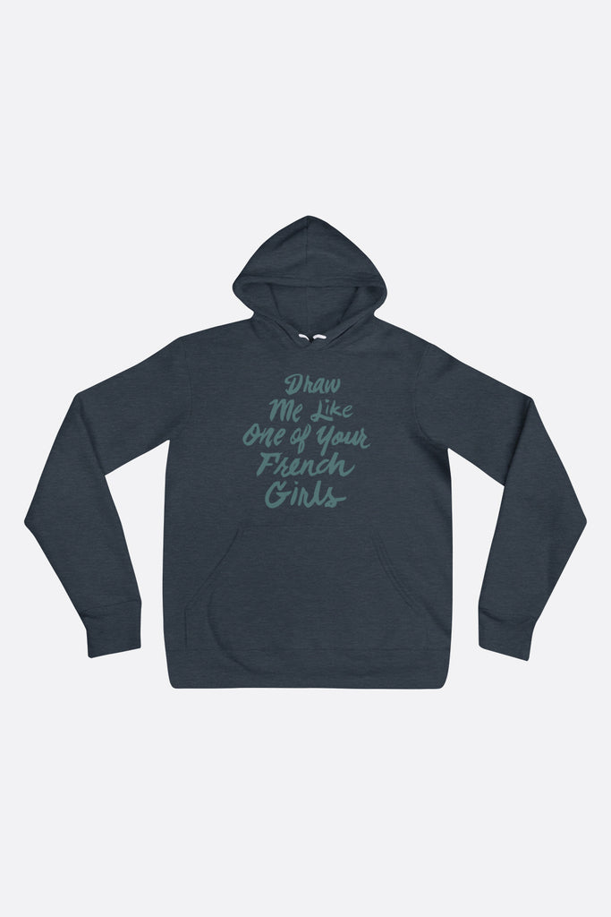 French Girls Unisex Hoodie