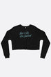 There is Life After Survival Crop Sweatshirt | Mackenzi Lee