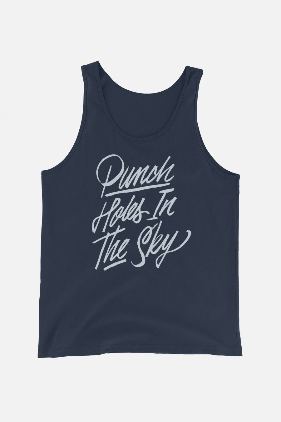 Punch Holes in the Sky Unisex Tank Top