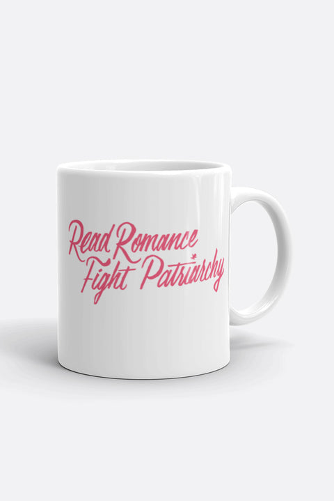 Read Romance, Fight Patriarchy Mug