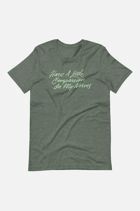 My Nerves! Unisex T-Shirt | Pride and Prejudice