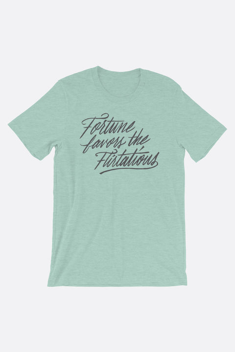 Fortune Favors the Flirtatious Unisex T-Shirt | Mackenzi Lee