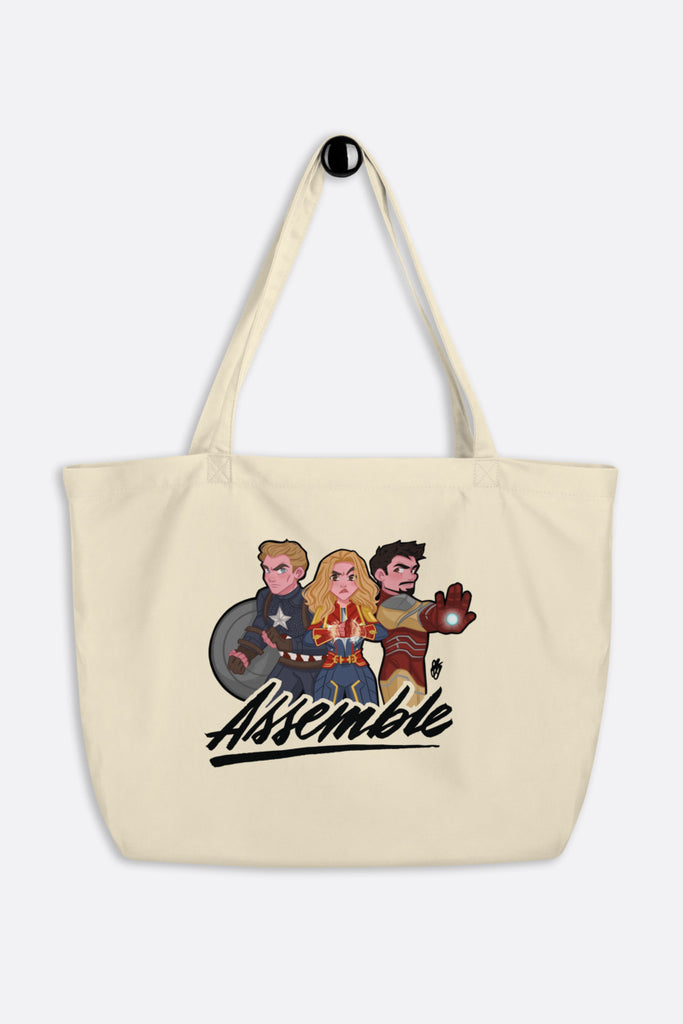 Assemble Large Eco Tote Bag