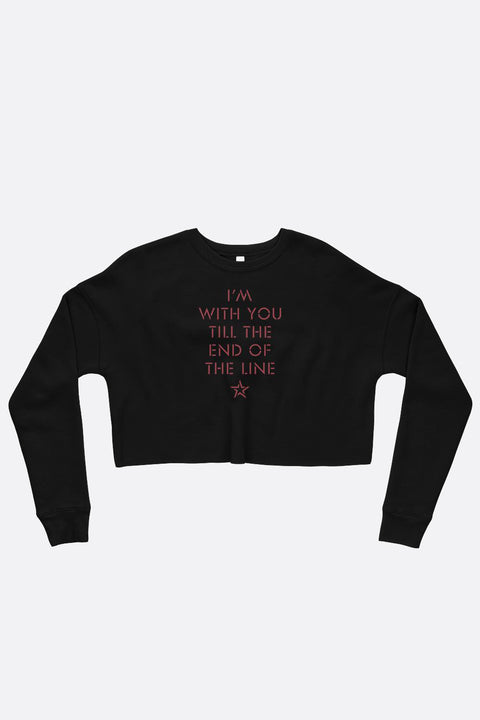 End of the Line Crop Sweatshirt