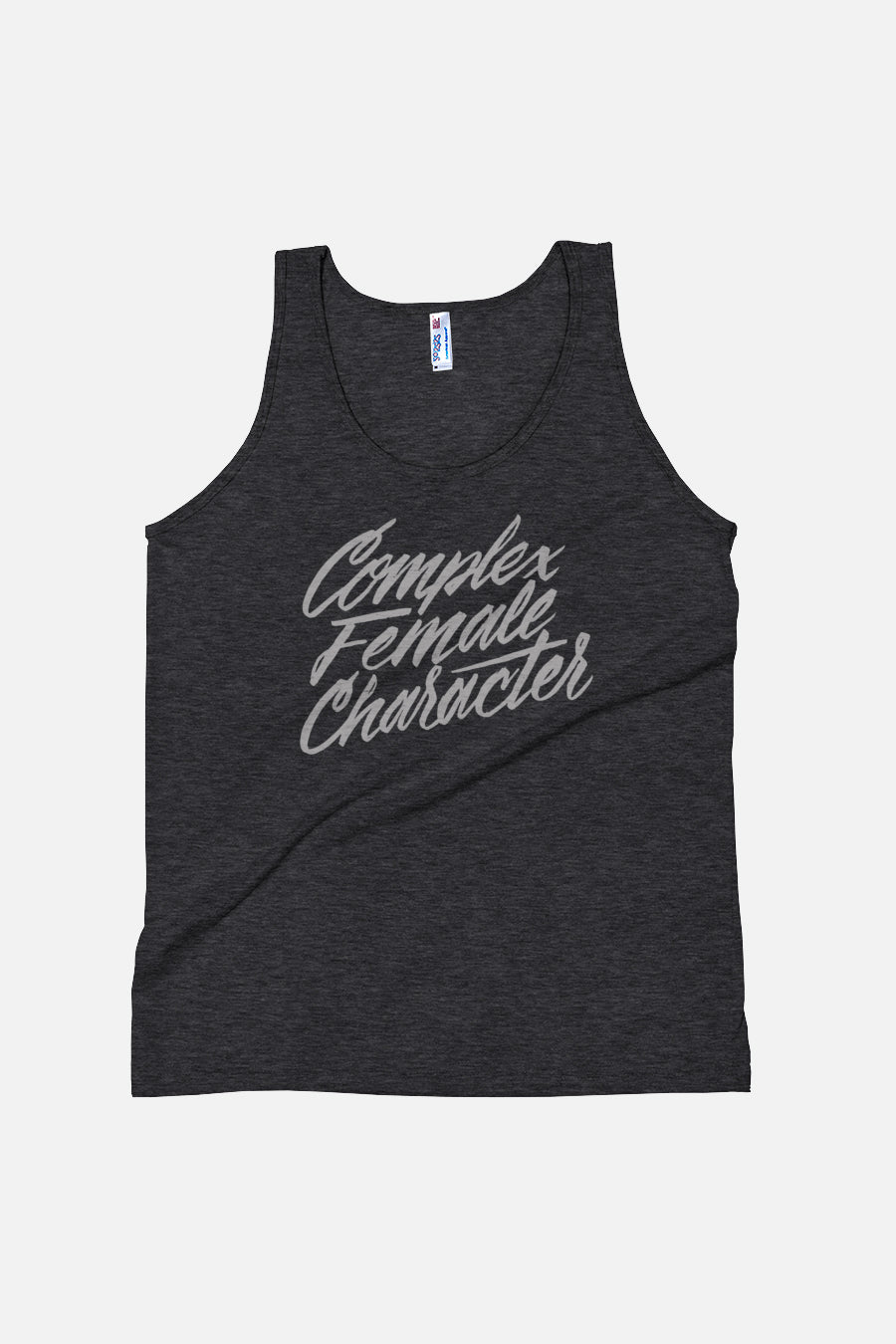 Complex Female Character Unisex Tank Top
