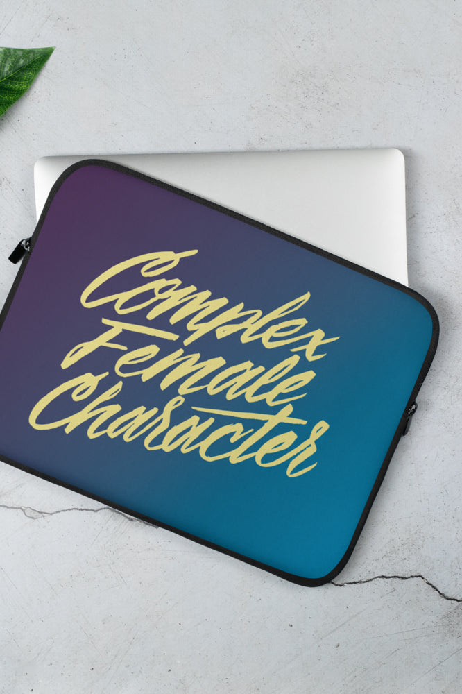 Complex Female Character Laptop Sleeve | Sam Maggs - 13 or 15 inch