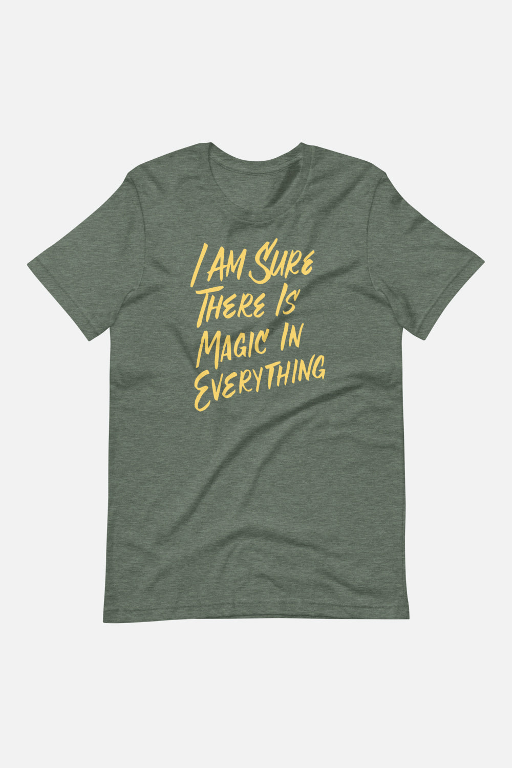 I Am Sure There is Magic in Everything Unisex T-Shirt | The Secret Garden