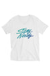 Stay Nerdy Unisex V-Neck T-Shirt | Sartorial Geek