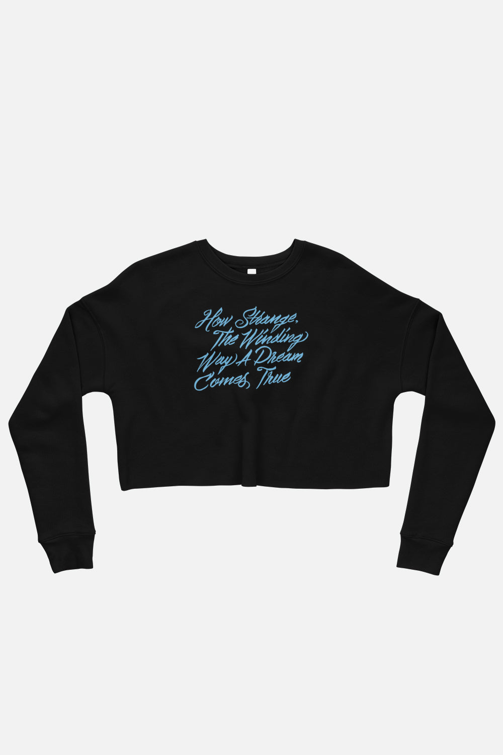 The Winding Way Fitted Crop Sweatshirt | The Invisible Life of Addie LaRue