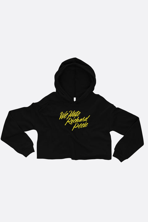 We Hate Richard Peele Crop Hoodie | Mackenzi Lee