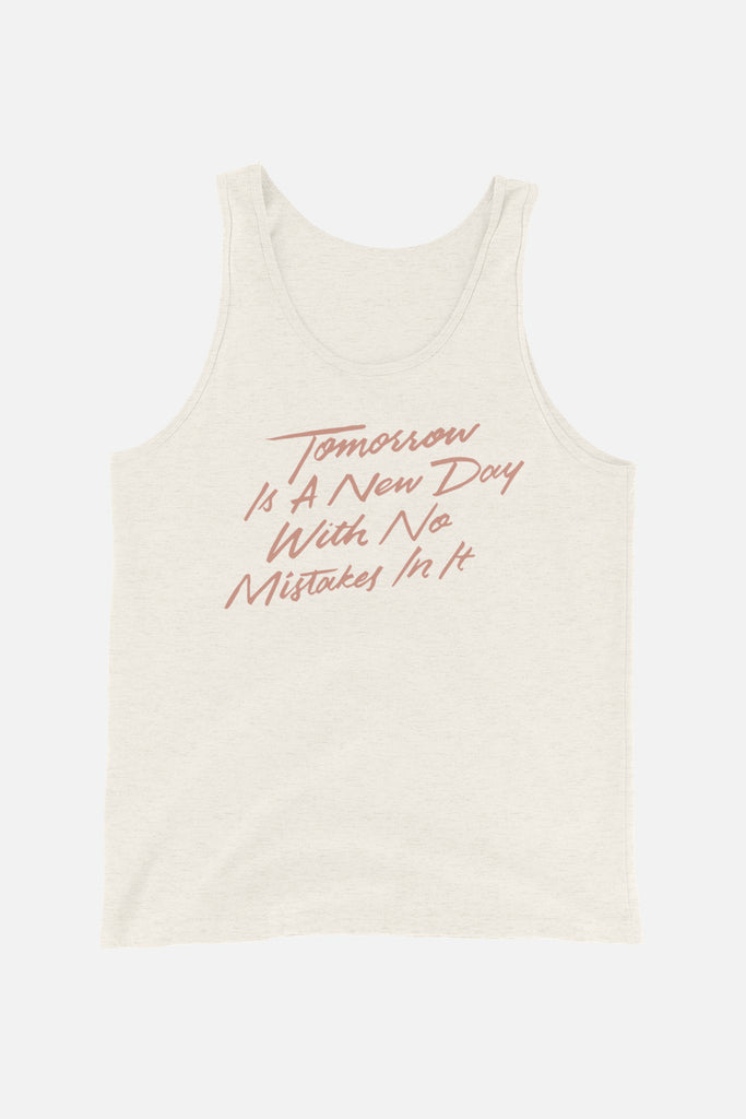 Tomorrow is a New Day Unisex Tank Top | Anne of Green Gables