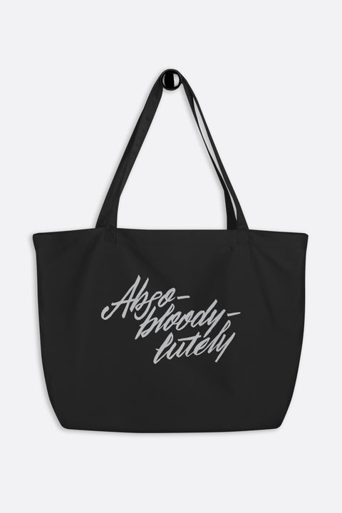 Abso-bloody-lutely Large Eco Tote Bag | Mackenzi Lee