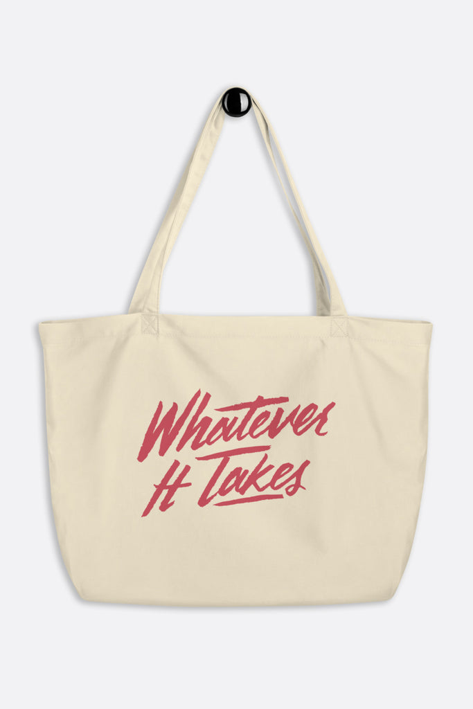 Whatever It Takes Large Eco Tote Bag