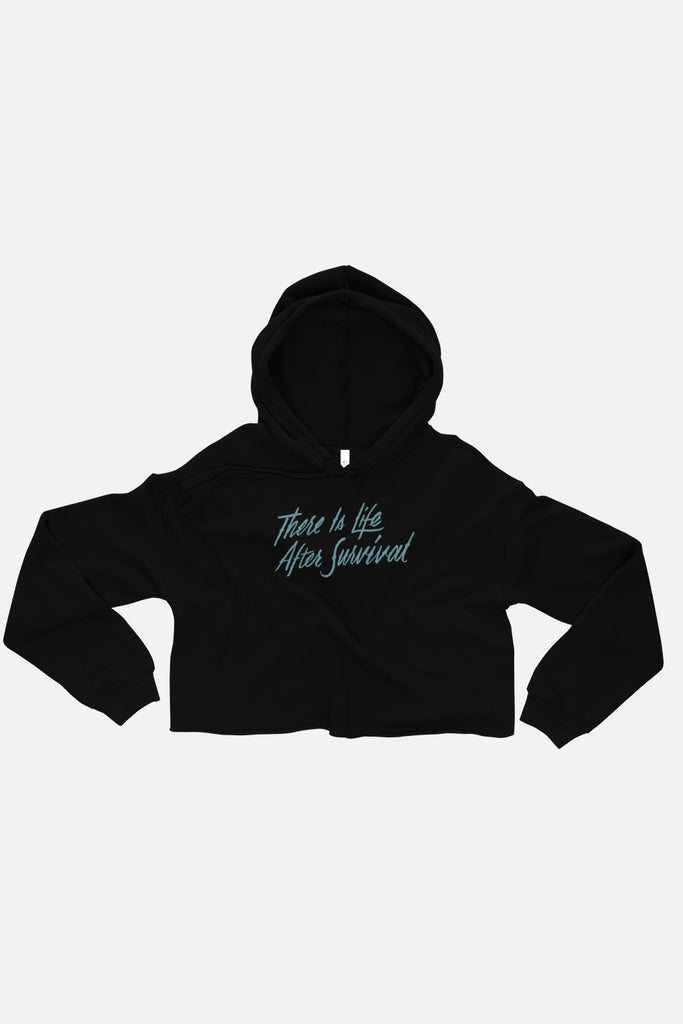 There is Life After Survival Crop Hoodie | Mackenzi Lee