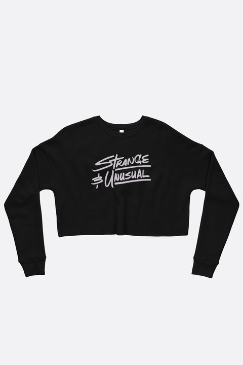 Strange and Unusual Crop Sweatshirt