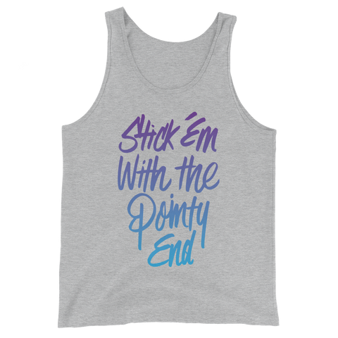 Pointy End Unisex Tank Top