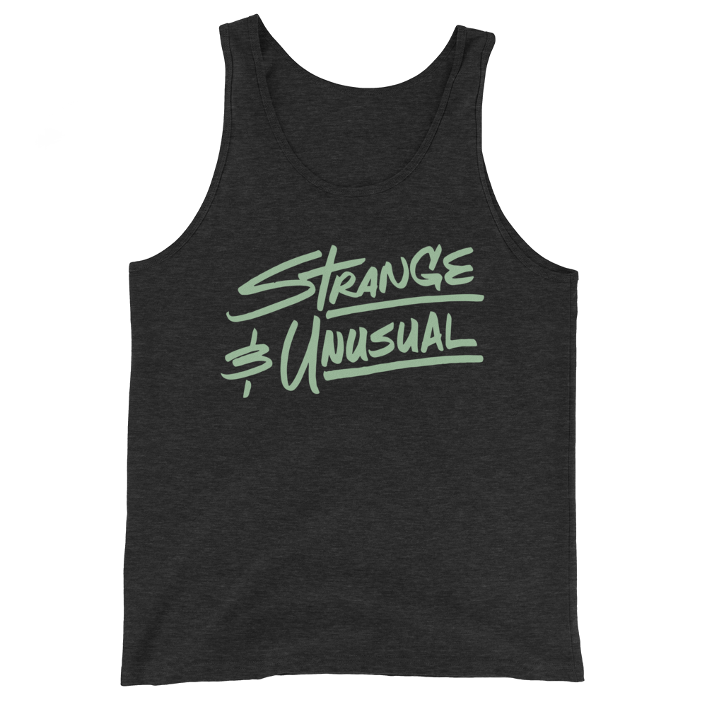 Strange and Unusual Unisex Tank Top