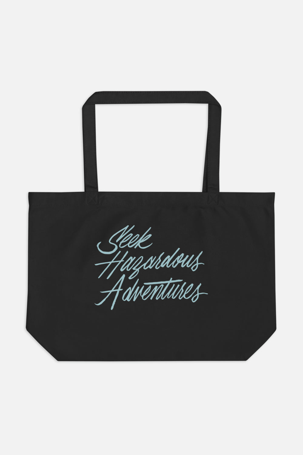 Seek Hazardous Adventures Large Eco Tote