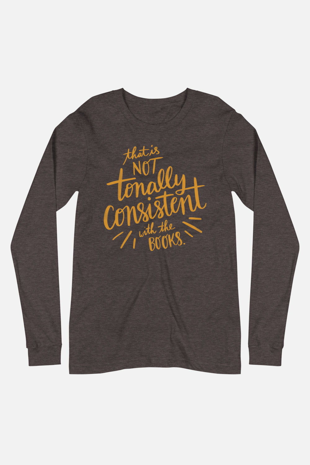 Tonally Consistent Unisex Long Sleeve Tee