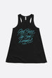 God Bless the Book People Flowy Racerback Tank | Mackenzi Lee