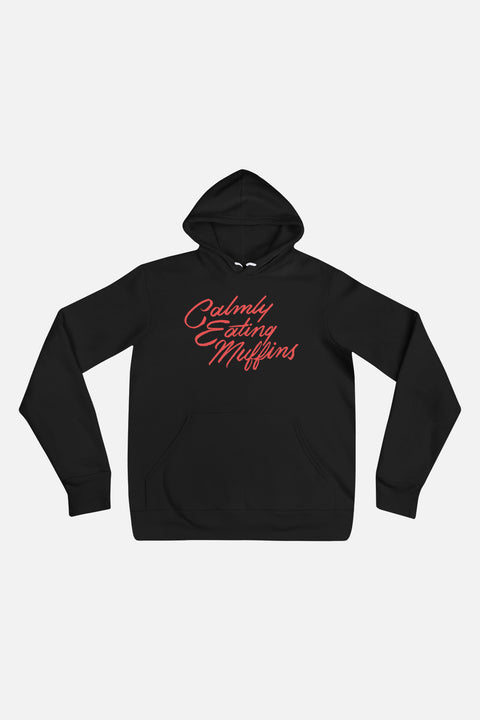 Calmly Eating Muffins Unisex Hoodie | The Importance of Being Earnest