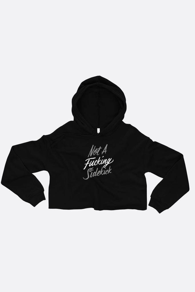 Not a Sidekick Crop Hoodie | V.E. Schwab Official Collection