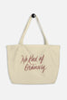 No Kind of Ordinary Large Eco Tote Bag | Sarah MacLean