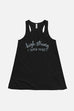 High-Strung Super Nerd Fitted Flowy Racerback Tank