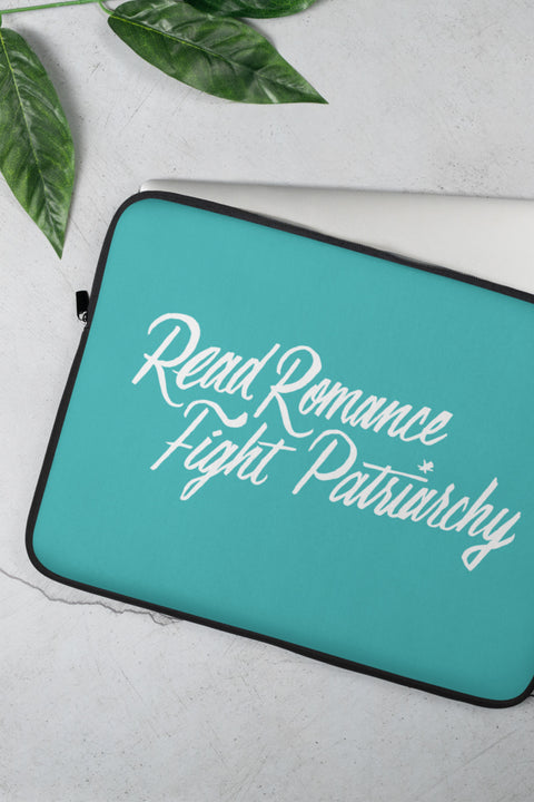 Read Romance, Fight Patriarchy Laptop Sleeve | Sarah MacLean - 13 or 15 inch